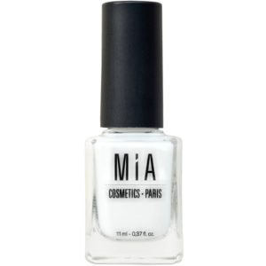 Esmalte de uñas Cotton White. Mía Cosmetics